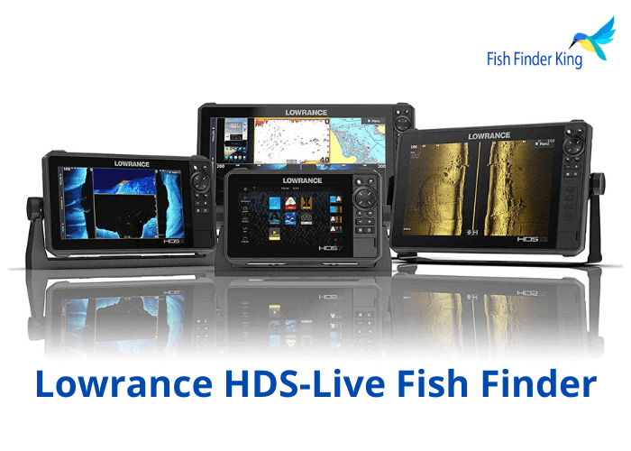Lowrance HDS-Live Fish Finder, Multi-Touch Screen, Live Sonar Compatible